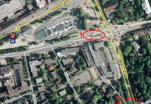 Unfall-Wandsbek-Markt