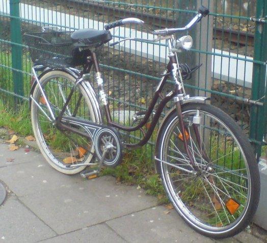 Mein Fahhrrad?